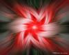 Canada Day Red Twirler Fractal Art