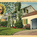 Residence of Alice Faye Beverly Hills California Vintage Postcard