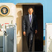 President Barack Obama Air Force One
