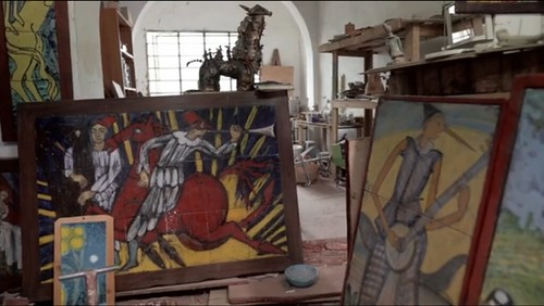 #ceramica 🎨 #dipintoamano #pinocchio #mandolino🎻 #chitarra #tromba 🎺 #bottega 👌 #ceramichedelborgo #arte #museodelleceramiche #eugeniotaccini #artigianato 🎥#elettritv💻📲 #webtv #musicaoriginale  :mus