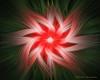 Garden Twirler Floral Fractal Abstract Art