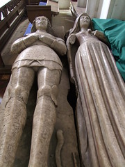 Photo of Wethersfield, Essex, St Mary Magdalene, 1529 Sir Roger and Lady Wentworth