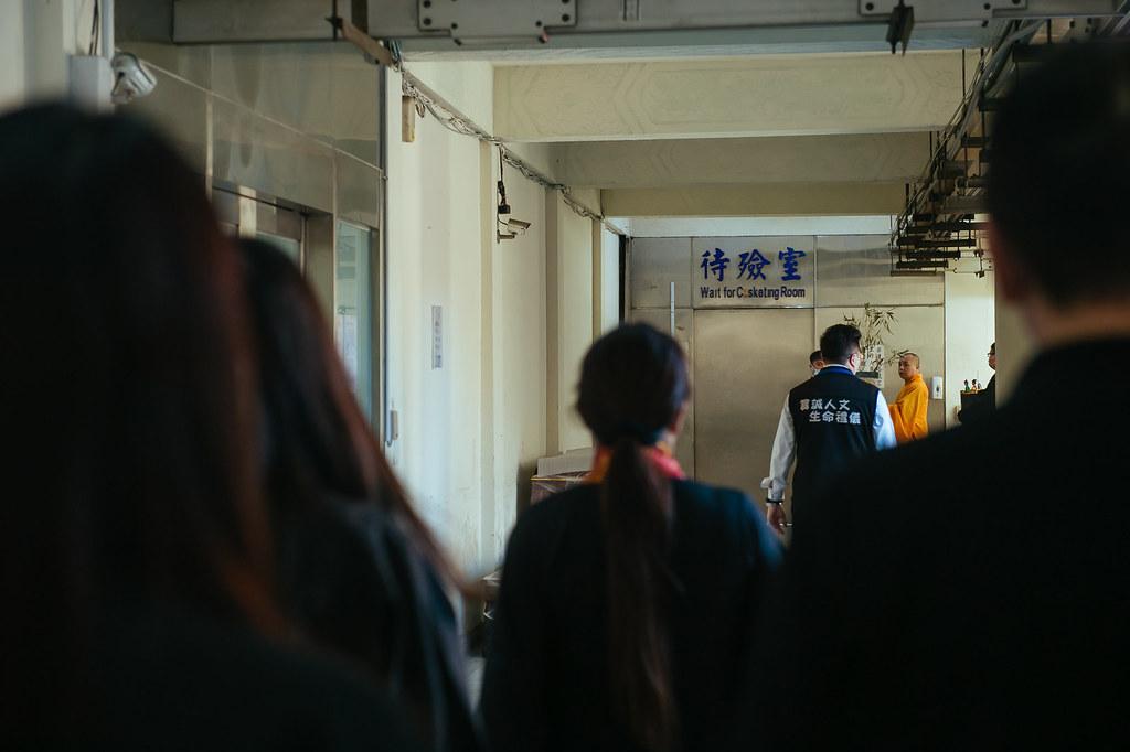 《喪禮攝影》新北市立板橋殯儀館 / 明孝廳 / 葉奠