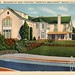 Residence of Mary Pickford America's Sweetheart Beverly Hills California Vintage Postcard