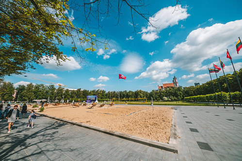 Open Beach   Vilnius