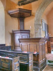 Photo of Wheatfield, Oxfordshire, St Andrew ,three decker pulpit