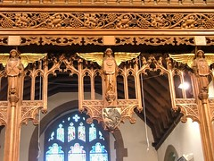 Photo of Wilmington, Kent, St Michael and All Angels, cresting on rood screen
