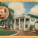 Home of Bing Crosby Toluca Lakes North Hollywood California Vintage Postcard