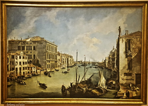 Madrid Museo Thyssen El Gran Canal - Canaletto