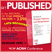 Get Published — Call for Late-Breaking Research (box ad)