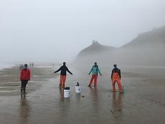 intertidal surveys_Cascade Head_social distancing
