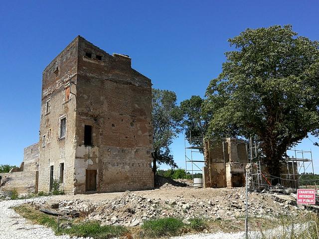 Photo 11 - Évolution des travaux de la tour Lacassagne