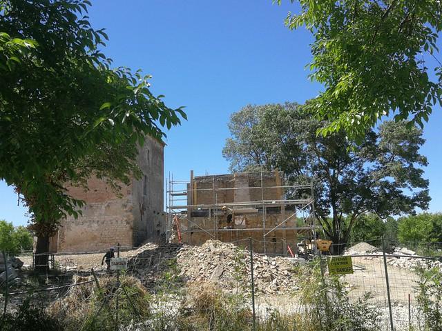 Photo 12 - Évolution des travaux de la tour Lacassagne