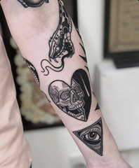 Devil Heart tattoo