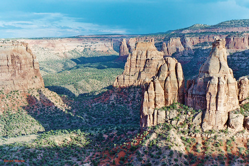 Monument Canyon from Book Cliff View, Colorado National Monument