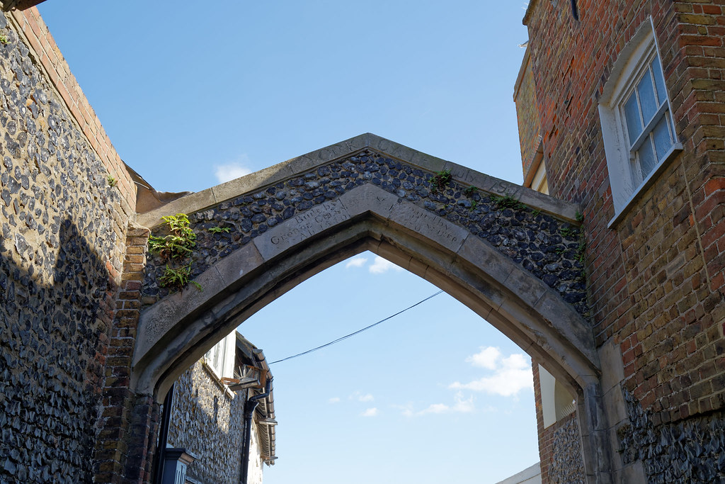 1540 York Gate arched portal at Broadstairs Kent England