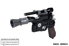 Han Solo's DL-44 Blaster Pistol - A New Hope