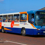 Stagecoach North East 20126, a 1996 Alexander PS B49F bodied Volvo B10M-55, reg no P126XCN