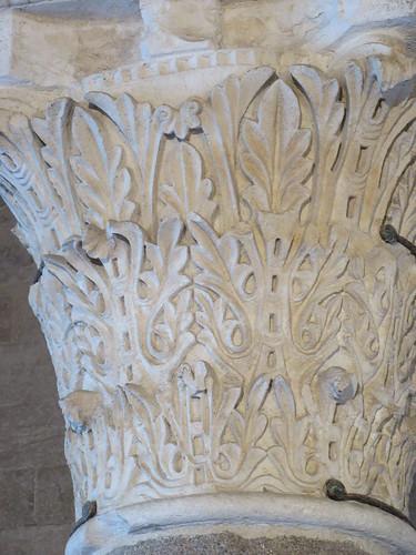 Bari castle column