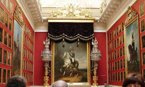 The Portrait Room, Hermitage Museum, St. Petersburg, Russia
