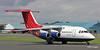 G-ETPK QinetiQ BaE Avro RJ70 departing Prestwick as ETP88 for Boscombe Down.1/7/20
