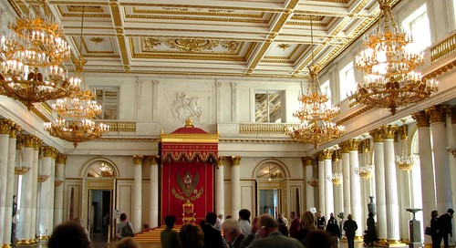 One of Many Ballrooms, Hermitage Museum, St. Petersburg, Russia