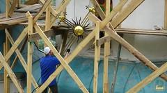 05. Реставрация Николаевского храма. Снятие крестов  04.07.2020
