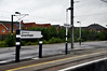 DSC_6002 Train Journey from Doncaster to London Kings Cross Green England After the Rain Grantham Railway Station