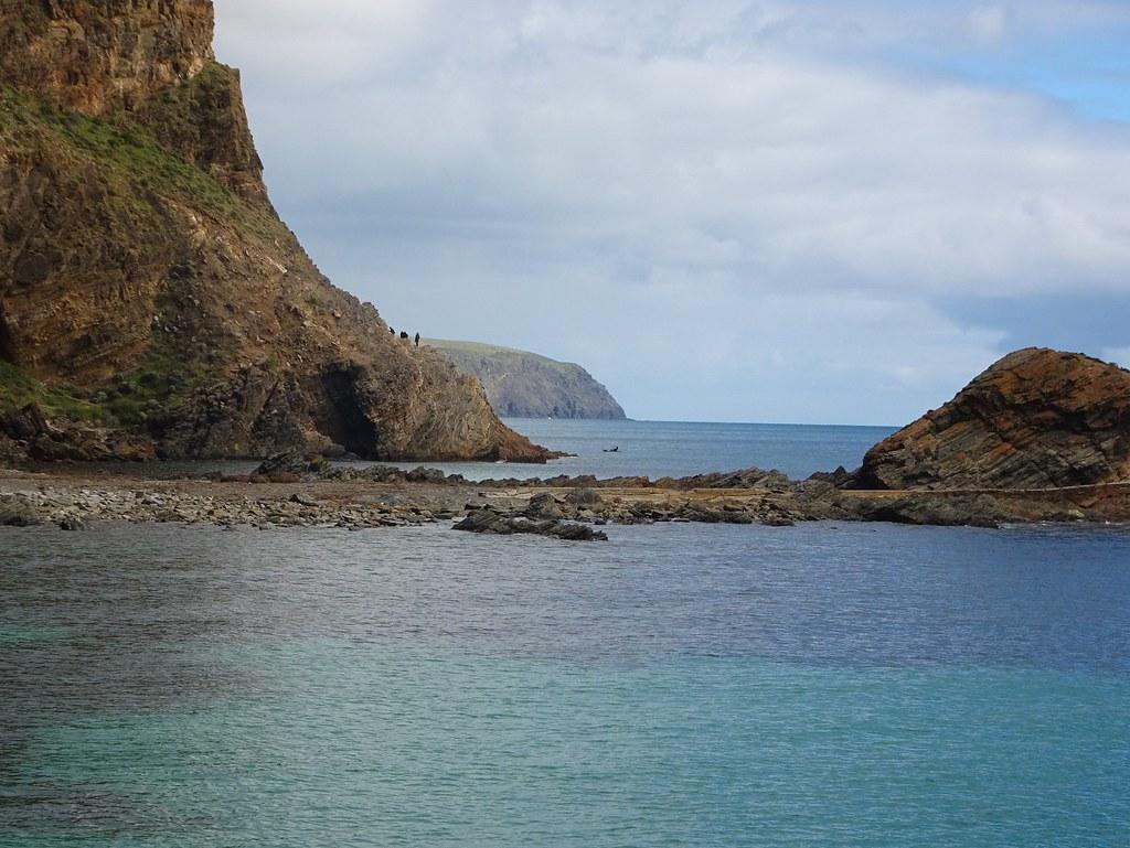 Second Valley Fleurieu Peninsula. Looking towards Rapid Bay the next coastal inlet.