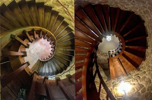 Escalera, Castillo Manzanares el Real