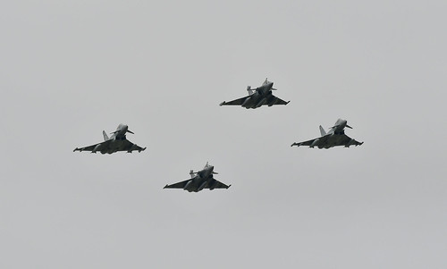 Rafale Typhoon Répétition 14 juillet 2020