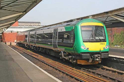 170 513 London Midland Shrewsbury (2)