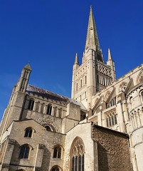 Photo of Norwich Cathedral taken with a Hauwei P20 Mate Pro