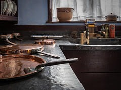 Photo of Lanhydrock scullery, Cornwall