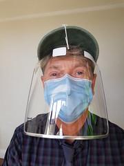 Photo of me in mask/ visor...