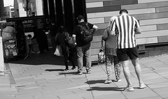 Photo of The Now Traditional Socially Distanced Shop Queue