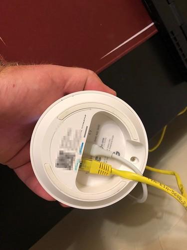 Google WiFi Ethernet Backhaul by Wesley Fryer, on Flickr