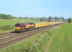 Photo of 66108, Lower Hatton, 28 May 2020