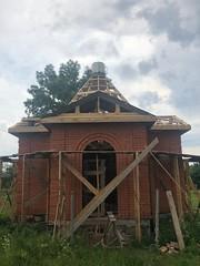 Строительство храма в с. Черниговском