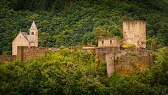 The old castle @ Esch-sur-Sûre