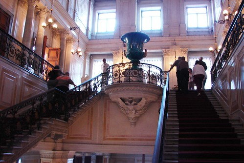Another Staircase in the Hermitage Museum, St. Petersburg, Russia