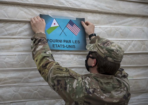 CJTF-HOA supports Djibouti's fight against COVID-19