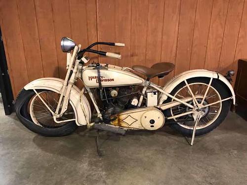 1929 Harley Davidson Motorcycle ($16,801.20)