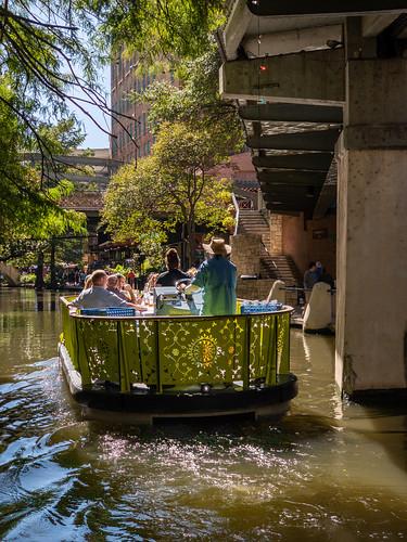 San Antonio Riverwalk boat