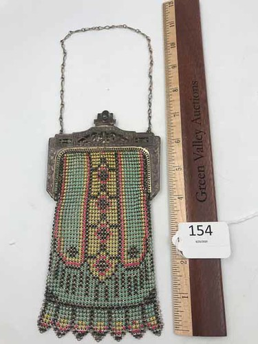 Flapper Girl Antique Mesh Purse ($83.07)