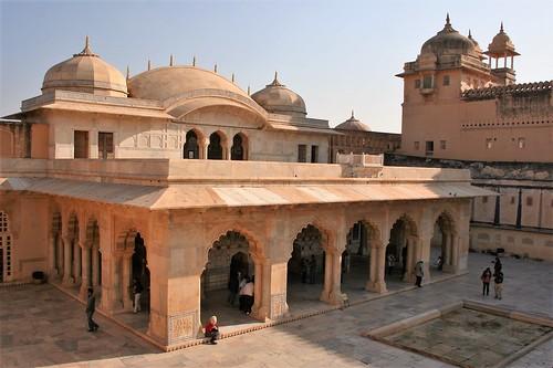 Jaipur - Amber Fort - Sheesh Mahal
