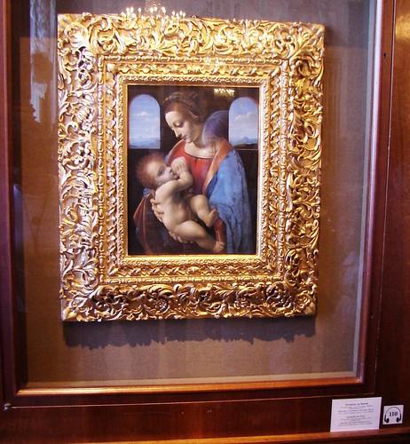 Madonna Litta by Leonardo da Vinci, Hermitage Museum, St. Petersburg, Russia