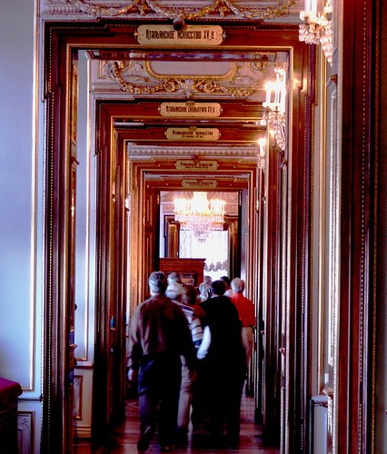 Five Rooms in one Photo, The Hermitage Museum, St. Petersburg, Russia