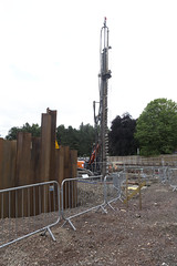 Photo of foundations at KB