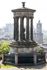 Photo of Dugald Stewart Monument, New Town, Edinburgh, Scotland